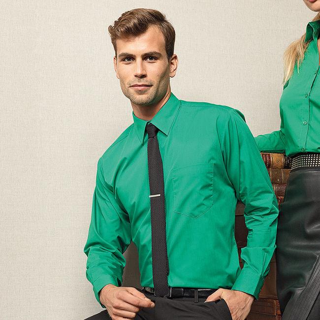 Mens Long Sleeved Shirt-PR200 - £23
